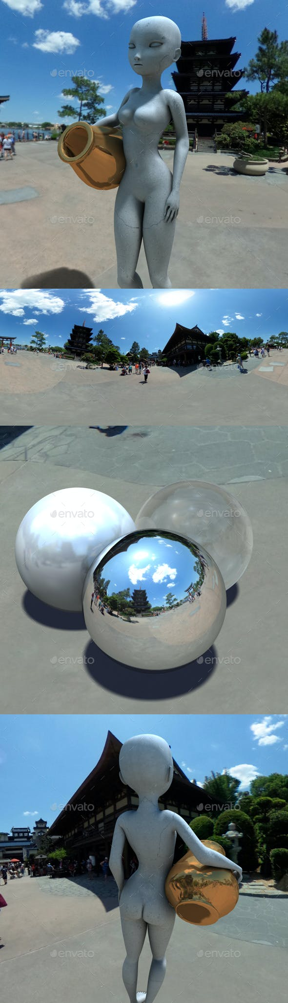 Traditional Japanese Square HDRI - 3DOcean Item for Sale