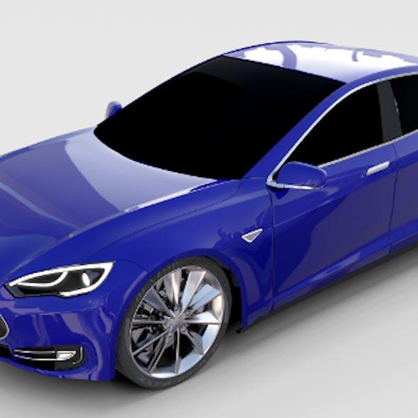Tesla Model S P85 rev