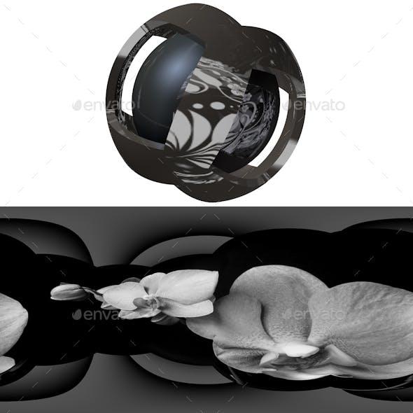 Floral HDRI Studio Lightbox 5