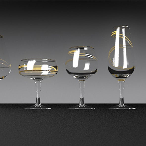 Wineglasses set