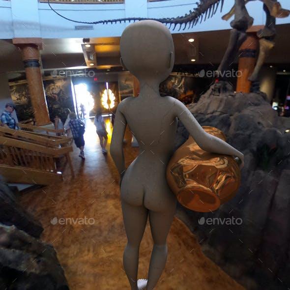 Dinosaur Museum HDRI
