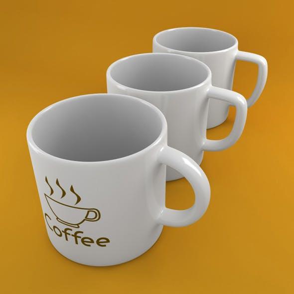 Coffee Tea Cup 003 - 3DOcean Item for Sale
