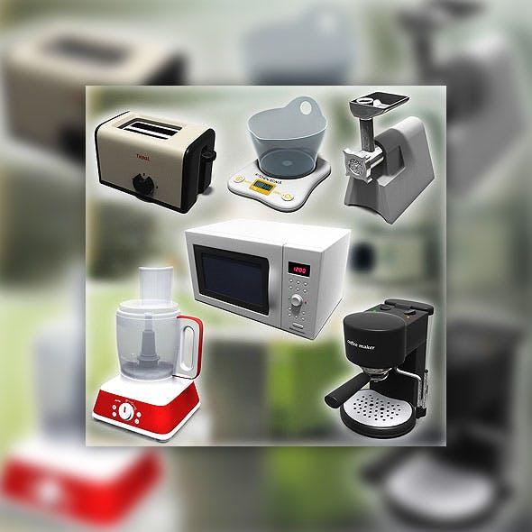 Kitchen tools set - 3DOcean Item for Sale