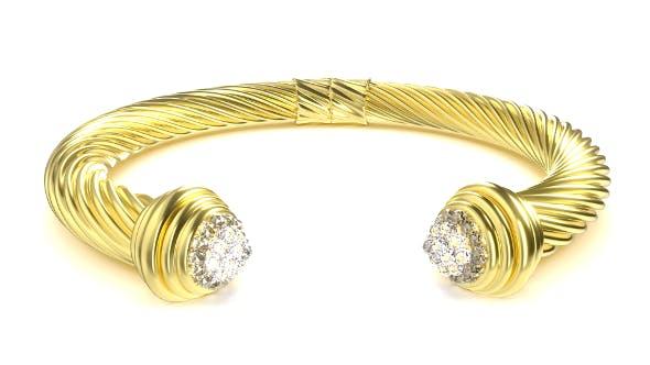 Twisted Bracelet 3 - 3DOcean Item for Sale