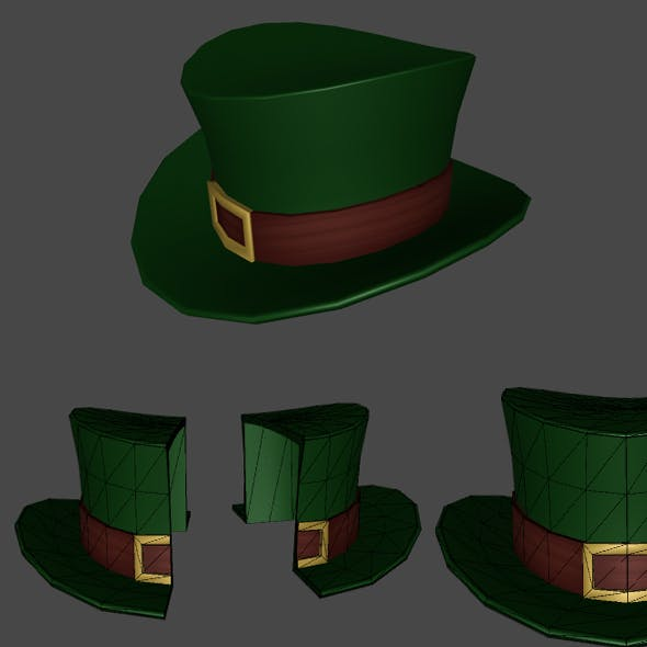 Green Hat of Patrick for Games