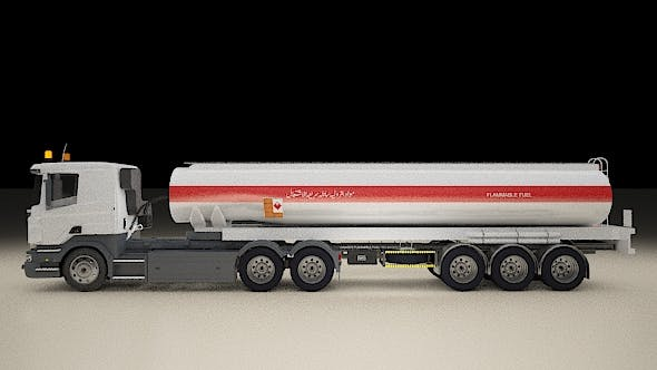 Scania Truck TANK AND BULK - 3DOcean Item for Sale