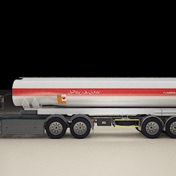 Scania Truck TANK AND BULK