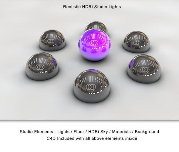 Realistic HDRi Studio Lightning - 3DOcean Item for Sale