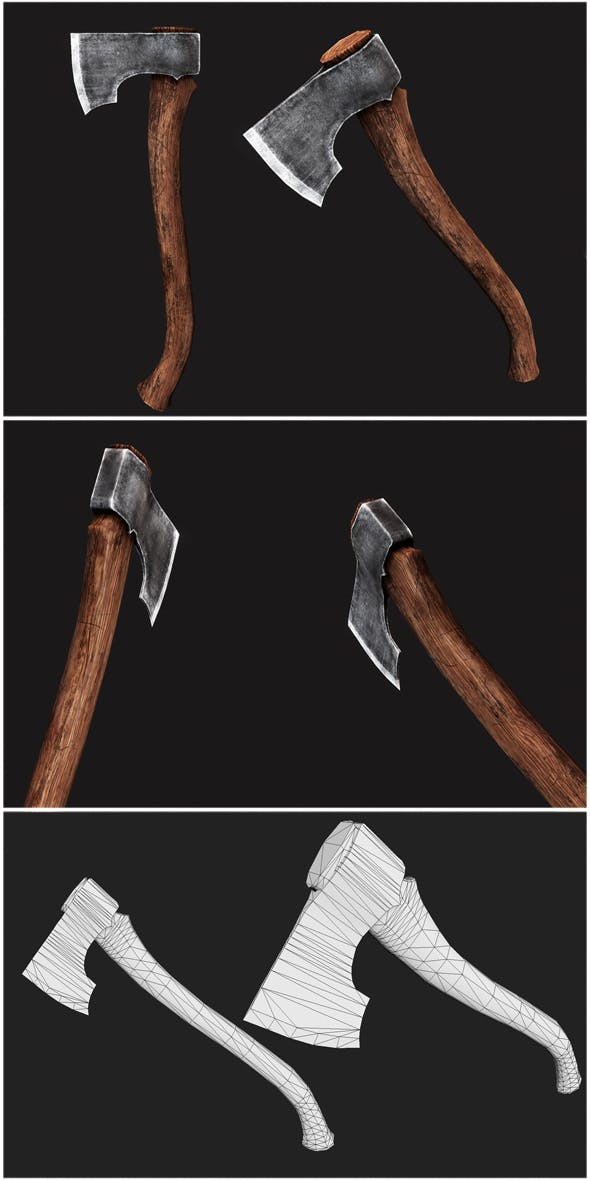 Forest Axe  - 3DOcean Item for Sale