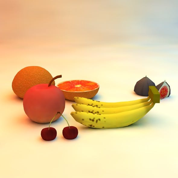 A to Z Fruit Pack - 3DOcean Item for Sale