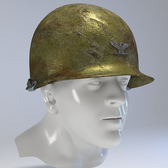 USA Army Helmet from Korea War
