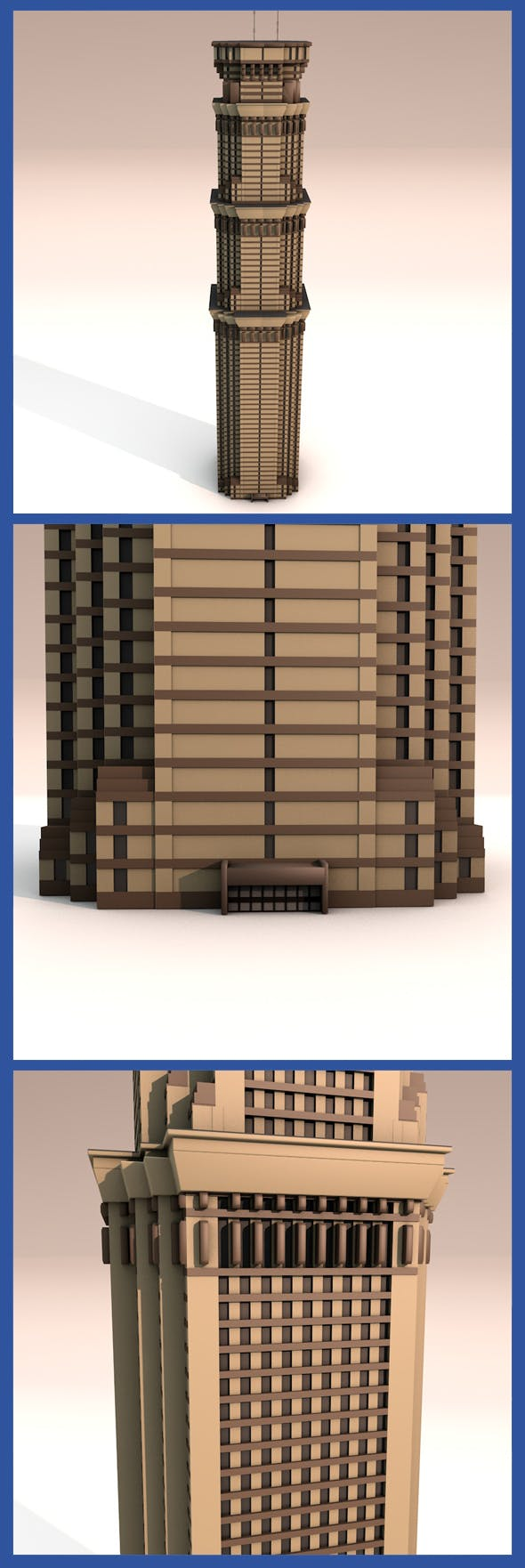 Grand 50 Tower - 3DOcean Item for Sale