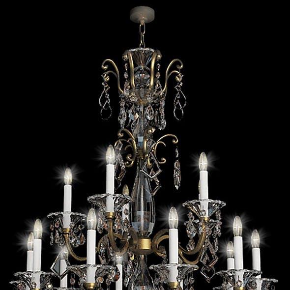 chandelier schonbek