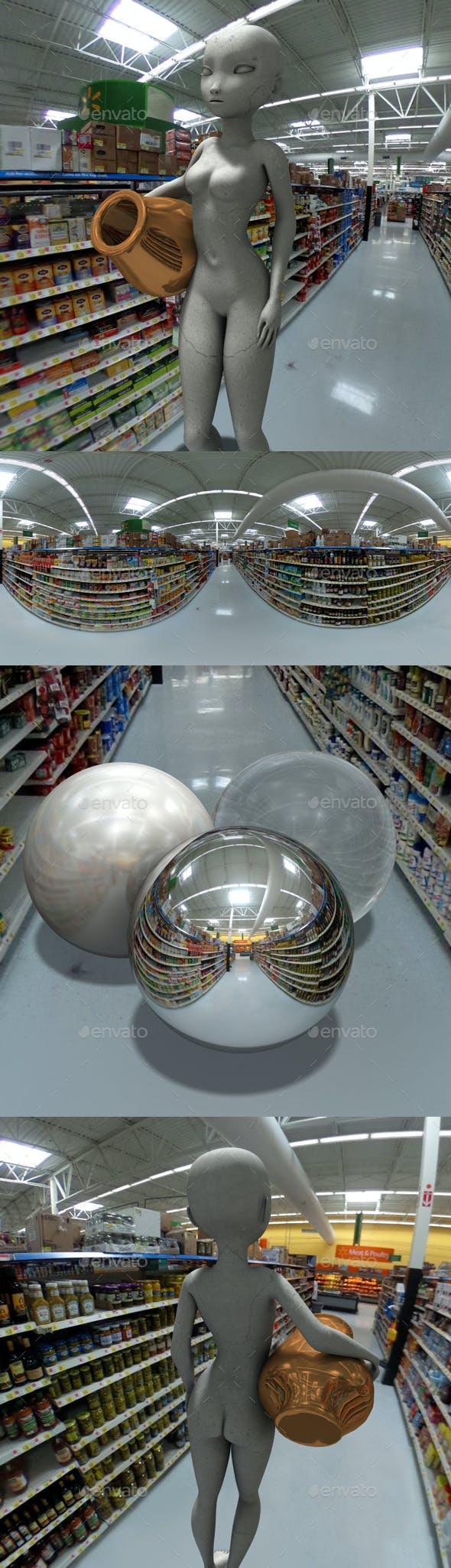 Supermarket HDRI - 3DOcean Item for Sale