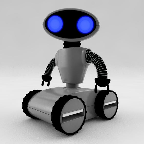 Robot Usb - 3DOcean Item for Sale