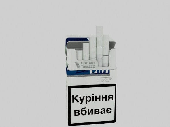 Cigarettes LM Blue - 3DOcean Item for Sale