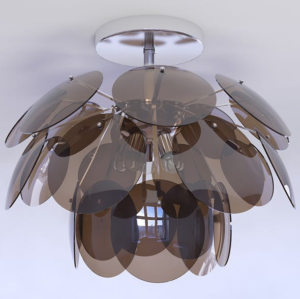 chandelier Luce Solara 3026/5PL - 3DOcean Item for Sale