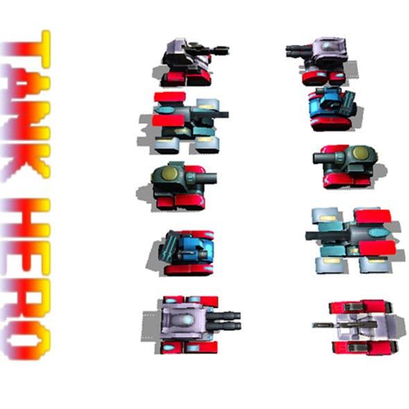 Tank Hero Team - 3DOcean Item for Sale