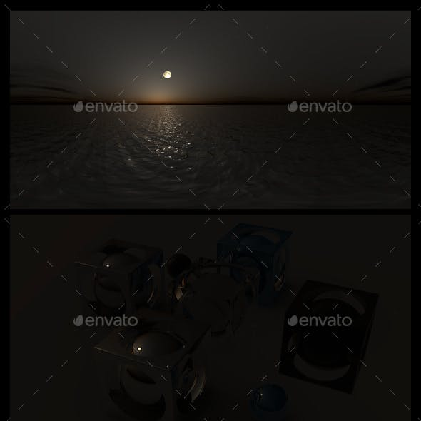 Ocean Night 3 - HDRI