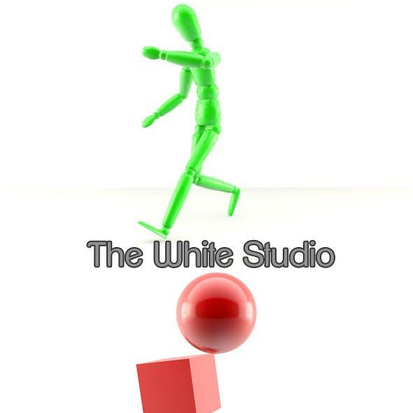 The white studio cinema 4d
