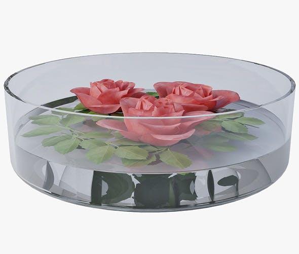 floral decor - 3DOcean Item for Sale