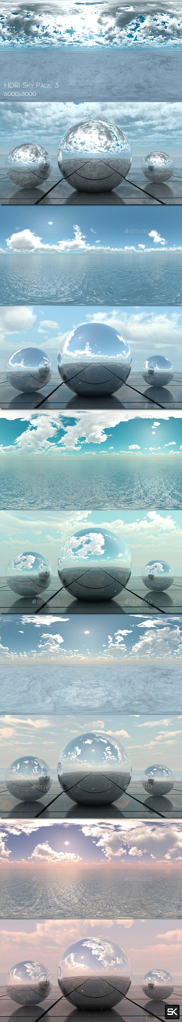 HDRI Pack Sky.3 - 3DOcean Item for Sale