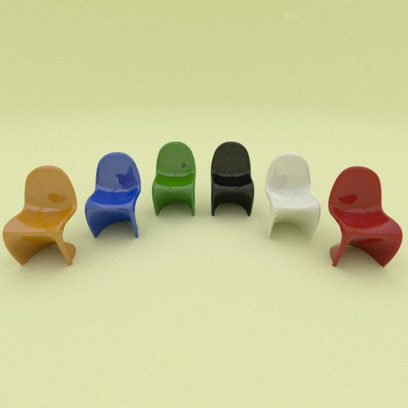 Panton plastic Chair