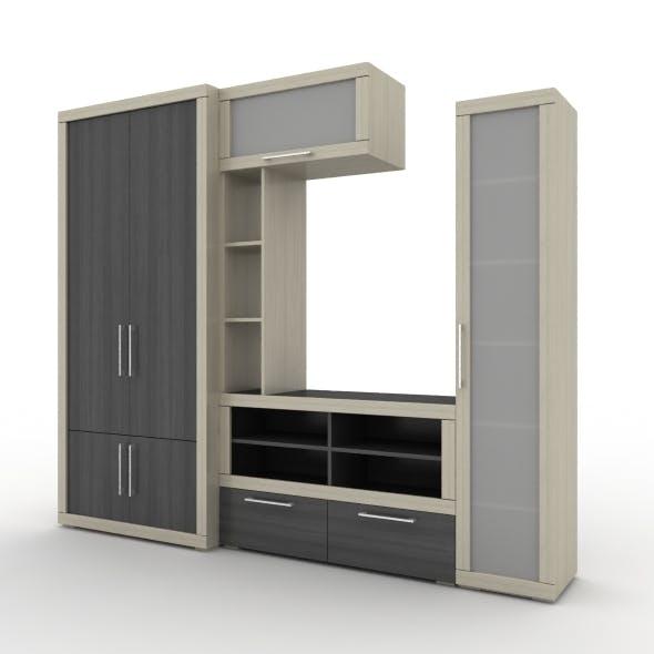 TV-Cabinet - 3DOcean Item for Sale