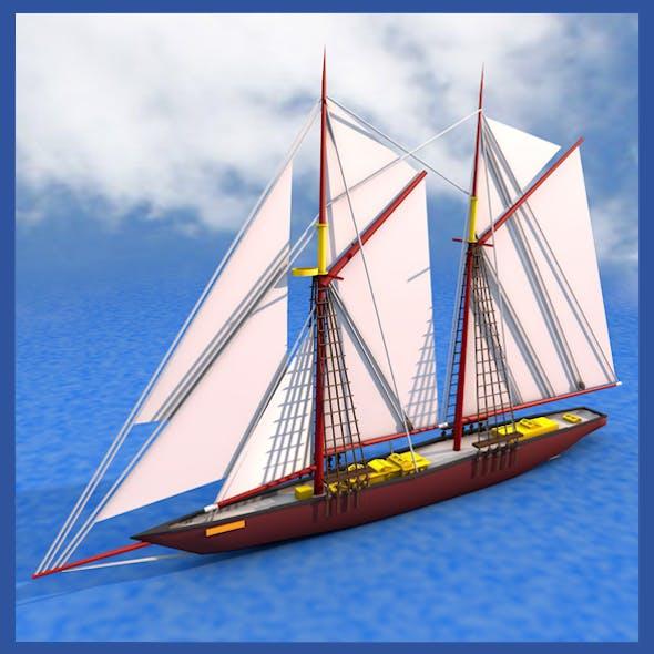 Bluenose Ship