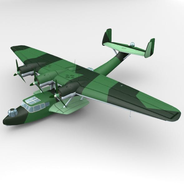 Dornier Do 24 - 3DOcean Item for Sale