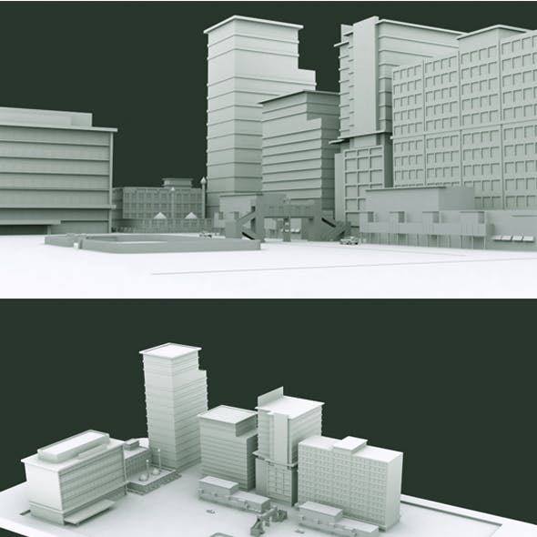 Phone City Model