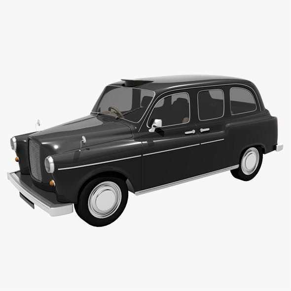 London Taxi - 3DOcean Item for Sale
