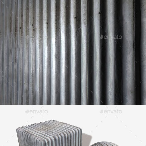 Metal Panel Seamless Texture