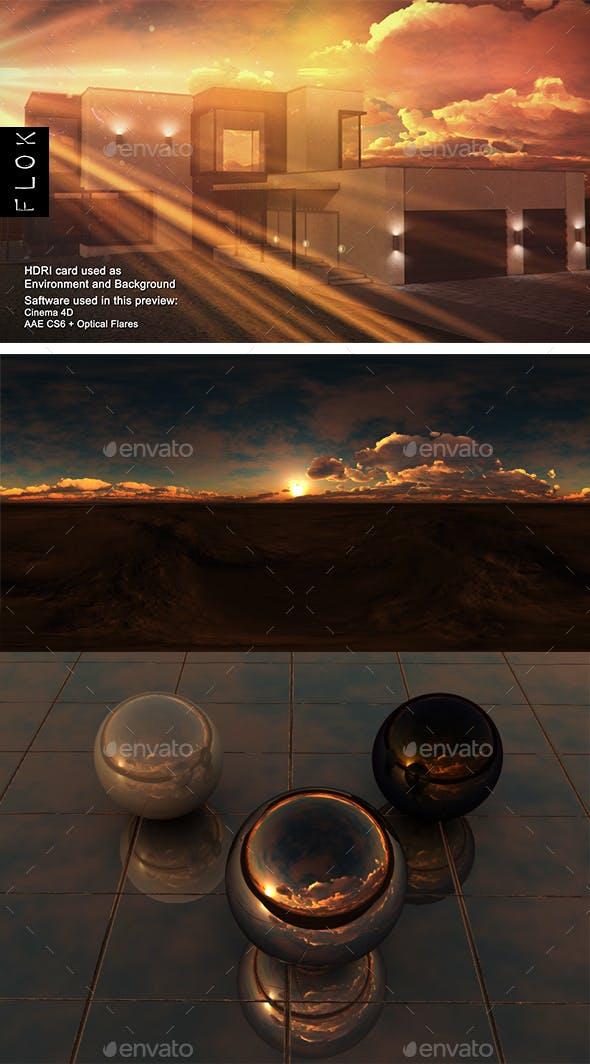 Sunset Desert 56 - 3DOcean Item for Sale