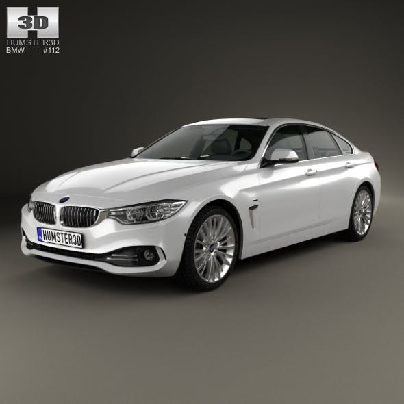 BMW 4 Series Gran Coupe Luxury Line 2013 - 3DOcean Item for Sale