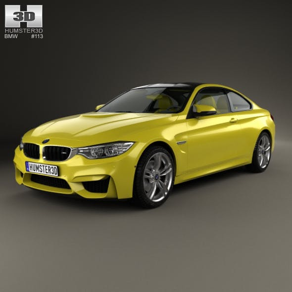 BMW M4 (F82) 2014 - 3DOcean Item for Sale