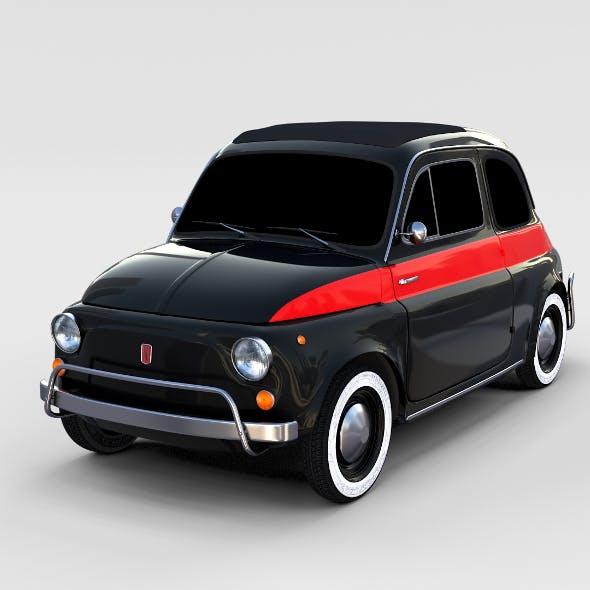 Fiat Nuova Sport 500 1958 rev - 3DOcean Item for Sale