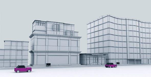 Game Building Set 1 - 3DOcean Item for Sale