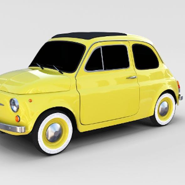 Fiat Nuova 500D 1960 rev