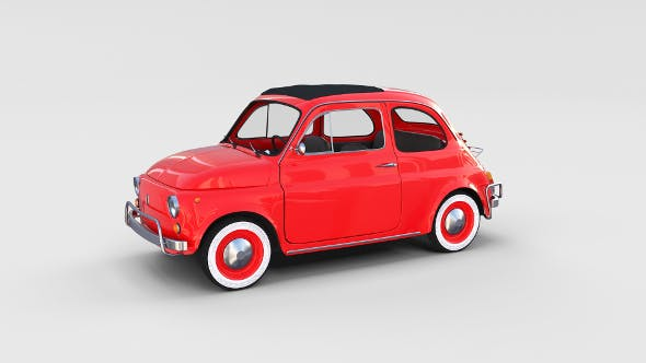 Fiat 500L Luxe 1968 rev - 3DOcean Item for Sale