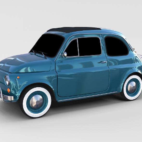 Fiat 1968 500L Luxe rev