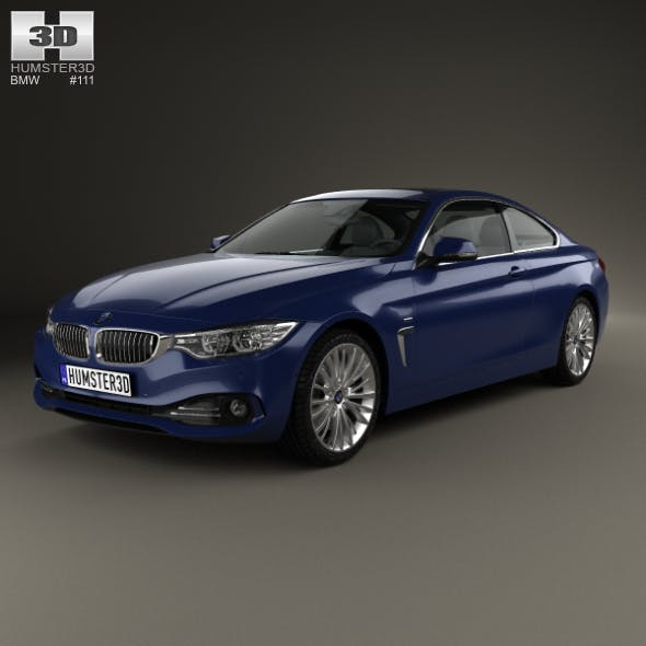 BMW 4 Series (F32) Coupe Luxury Line 2013 - 3DOcean Item for Sale