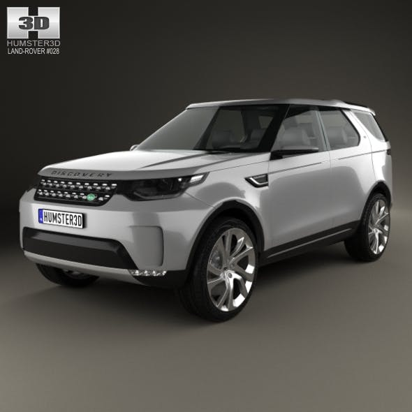 Land Rover Discovery Vision 2014 - 3DOcean Item for Sale