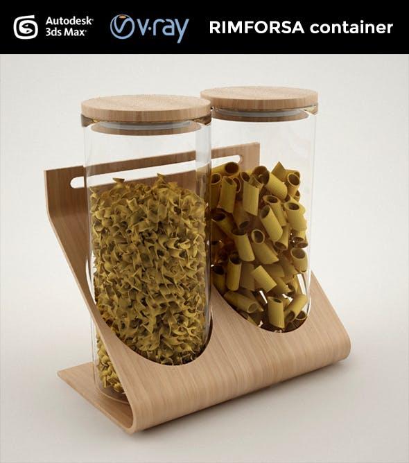 RIMFORSA container - 3DOcean Item for Sale