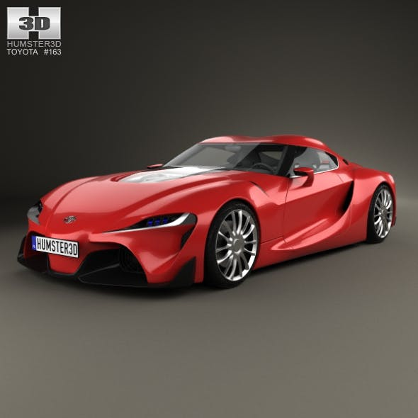 Toyota FT-1 2014 - 3DOcean Item for Sale