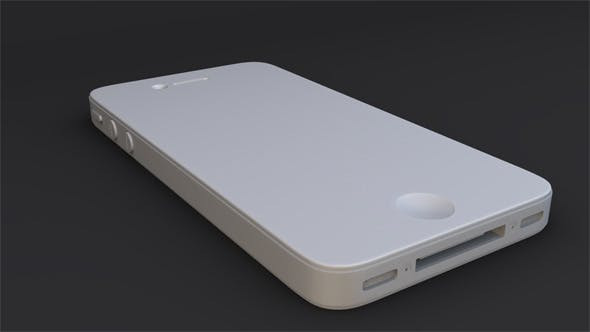 iPhone 4S Model - 3DOcean Item for Sale