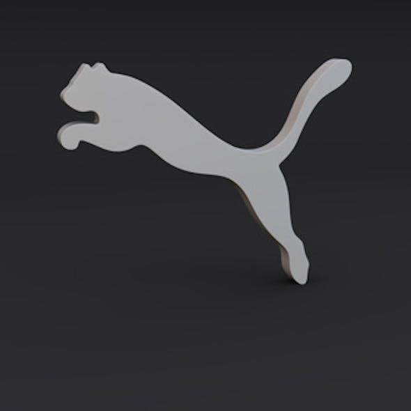 Puma Logo Model