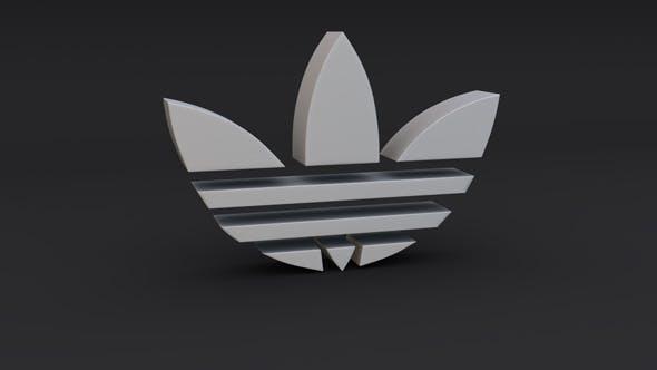 Adidas Logo Model - 3DOcean Item for Sale