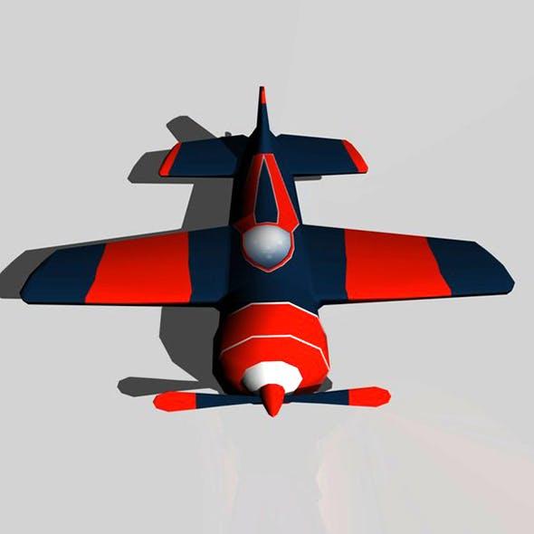 Low Ploy Plane - 3DOcean Item for Sale