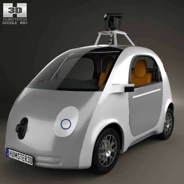 Google Self-Driving Car 2014 - 3DOcean Item for Sale
